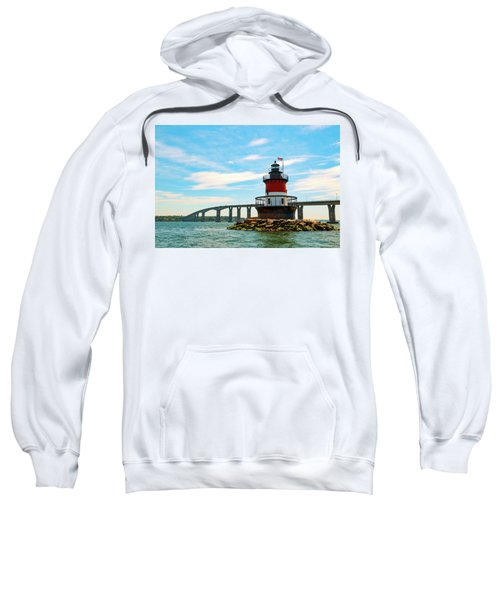 Lighthouse On A Small Island Sweatshirt
