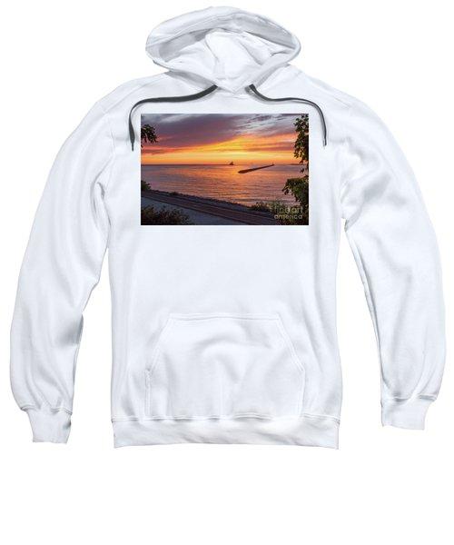 Lighthouse Sunset Sweatshirt