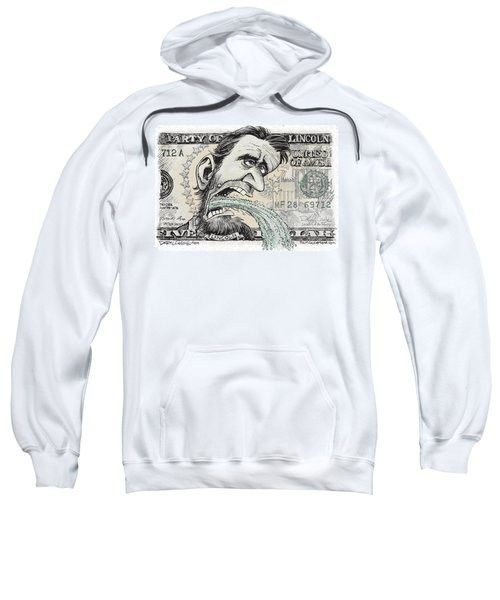 Lincoln Barfs Sweatshirt