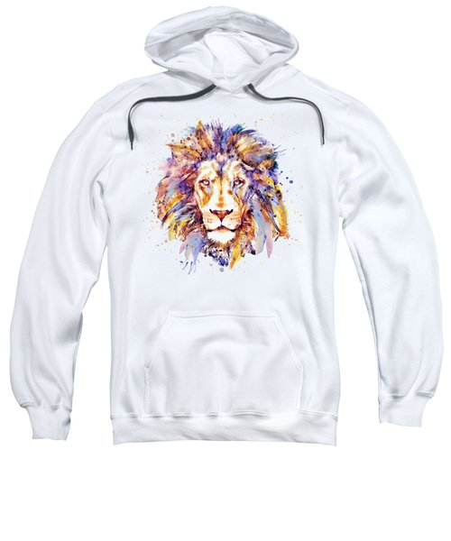 Lion Head Sweatshirt by Marian Voicu