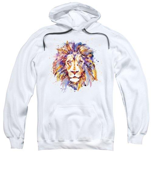 Lion Head Sweatshirt by Marian Voicu