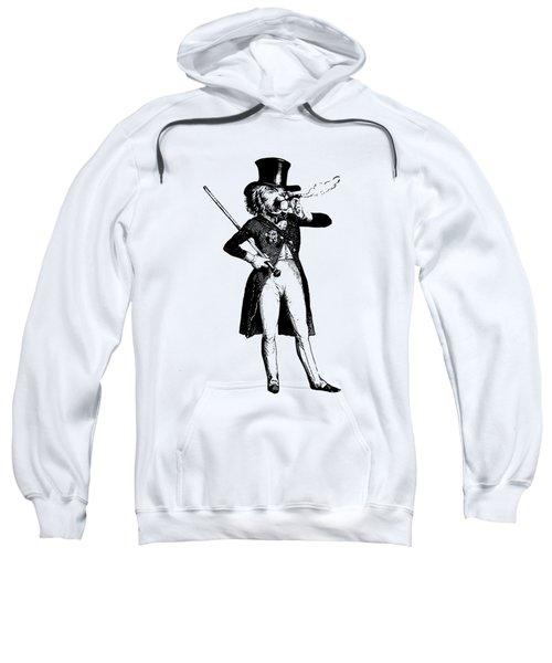 Lion King Grandville Transparent Background Sweatshirt