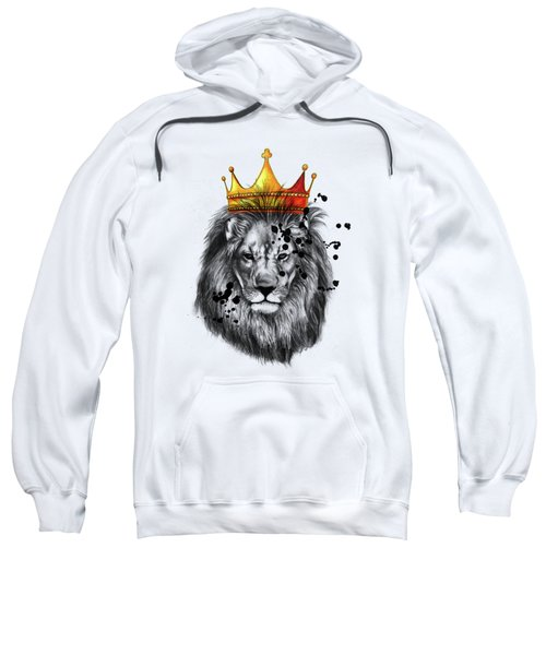 Lion King  Sweatshirt by Mark Ashkenazi