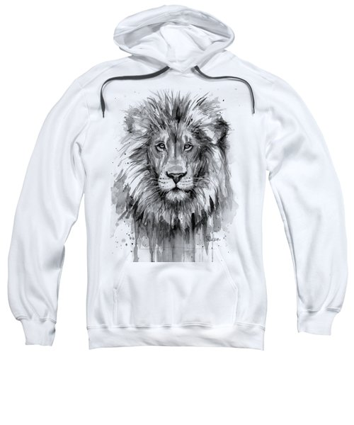 Lion Watercolor  Sweatshirt