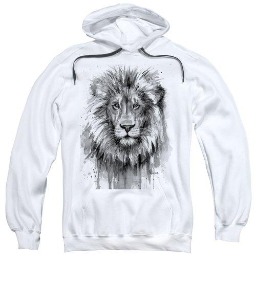 Lion Watercolor  Sweatshirt
