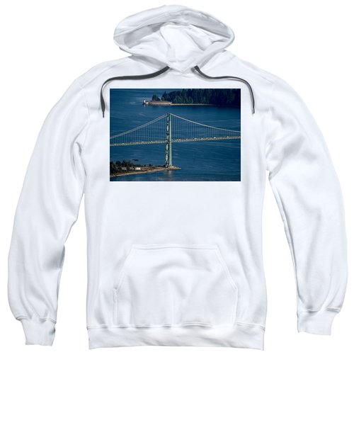 Lions Gate Bridge And Brockton Point Sweatshirt