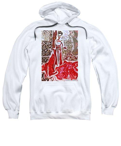 Liquid Red Sweatshirt