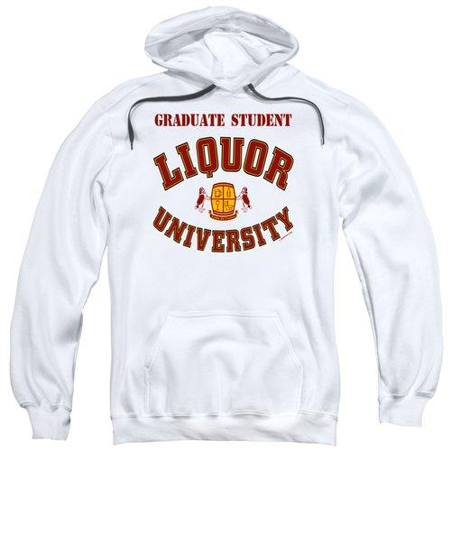 Liquor University Graduate Student Sweatshirt