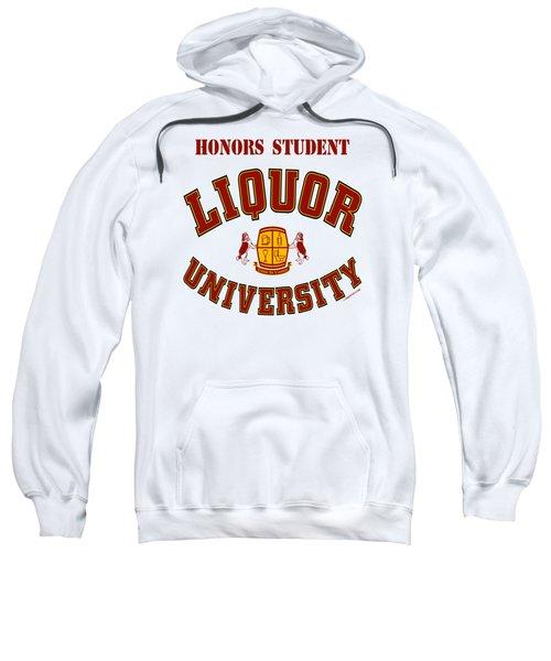 Liquor University Honors Student Sweatshirt