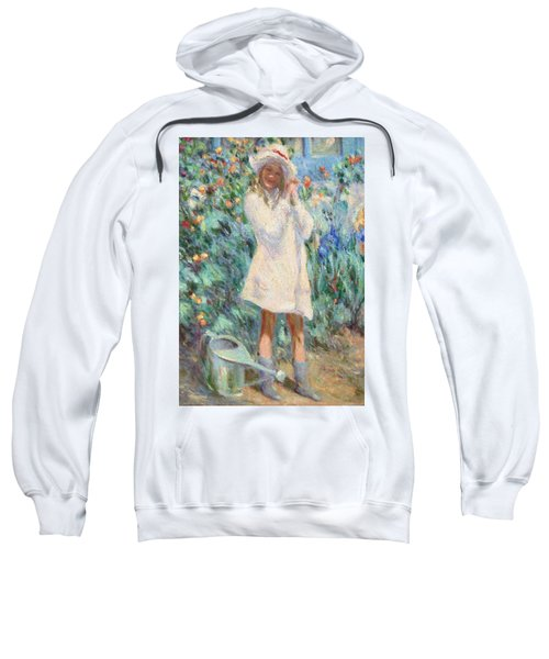 Little Girl With Roses / Detail Sweatshirt