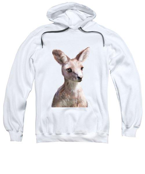 Little Kangaroo Sweatshirt by Amy Hamilton