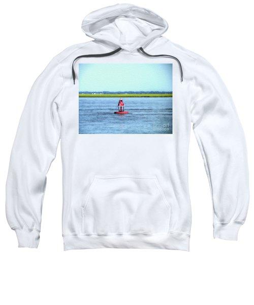 Little Red Buoy  Sweatshirt