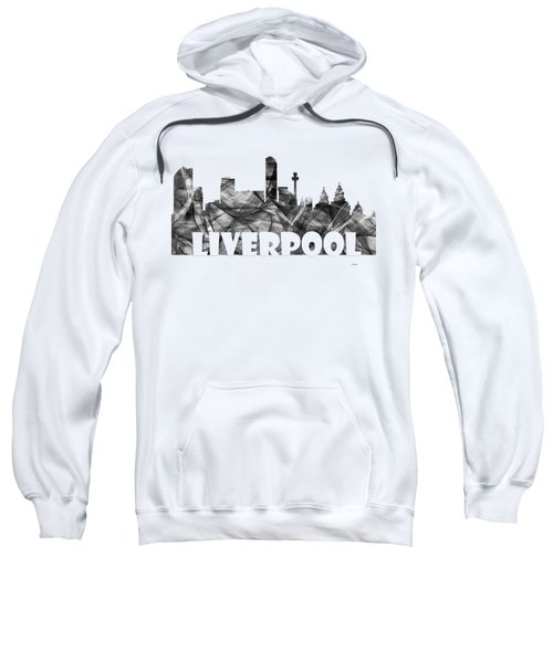 Liverpool England Skyline Sweatshirt