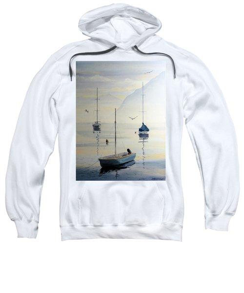 Locarno Boats In February Sweatshirt