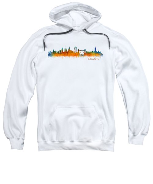 London City Skyline Hq V2 Sweatshirt by HQ Photo