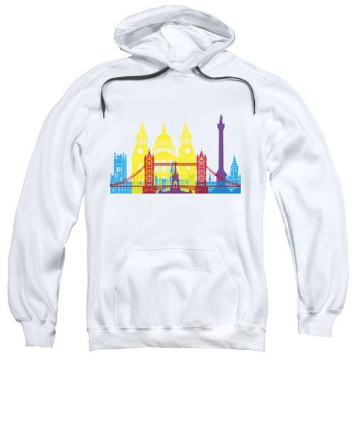 London Skyline Pop Sweatshirt