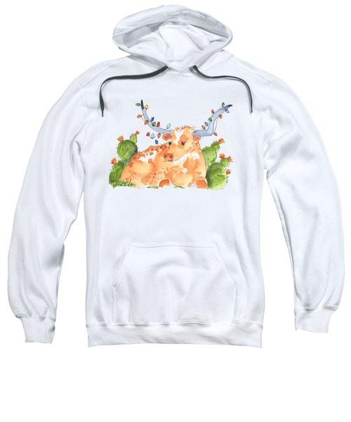 Longhorn Christmas Sweatshirt