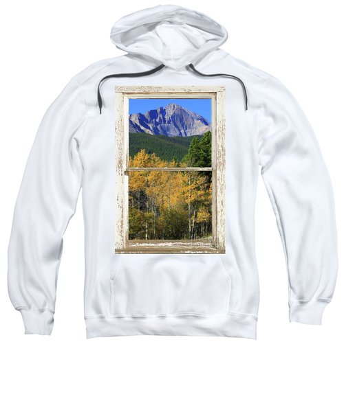 Longs Peak Window View Sweatshirt