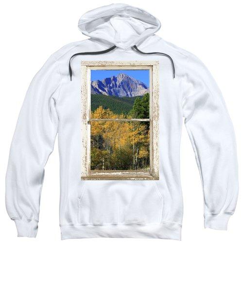 Longs Peak Window View Sweatshirt