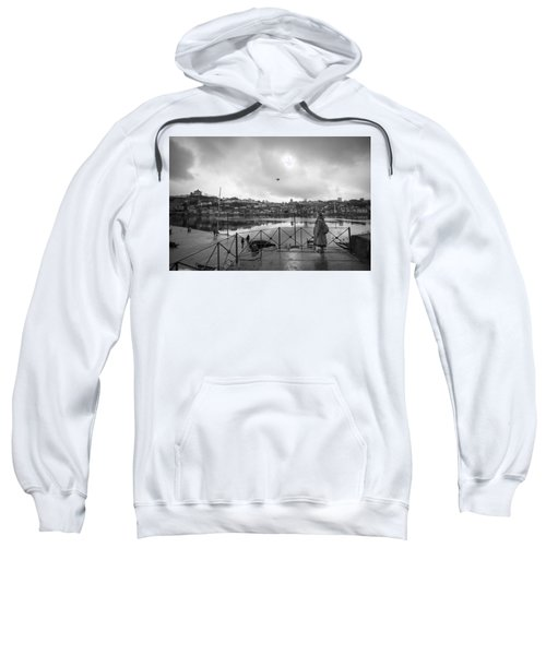 Looking And Passing By Sweatshirt