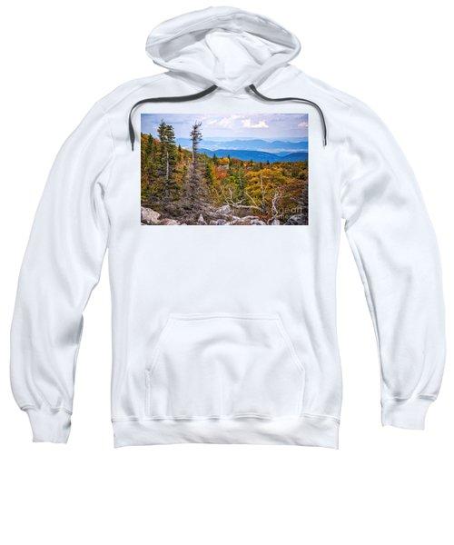 Looking East From Bear Rocks 4290c Sweatshirt