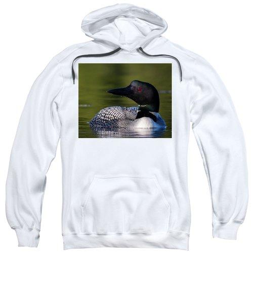 Loon Close Up Sweatshirt