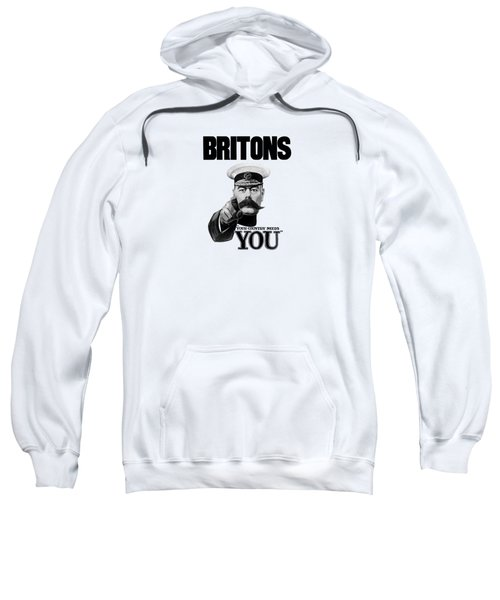 Lord Kitchener - Britons Your Country Needs You Sweatshirt