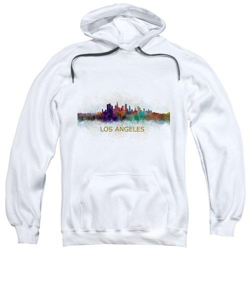 Los Angeles City Skyline Hq V4 Sweatshirt