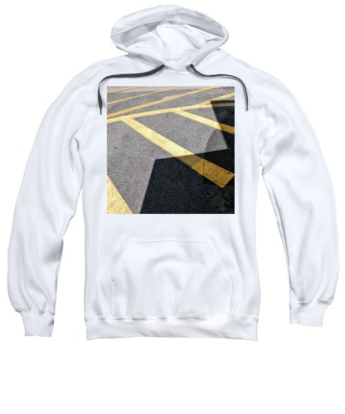 Sweatshirt featuring the photograph Lot Lines by Eric Lake