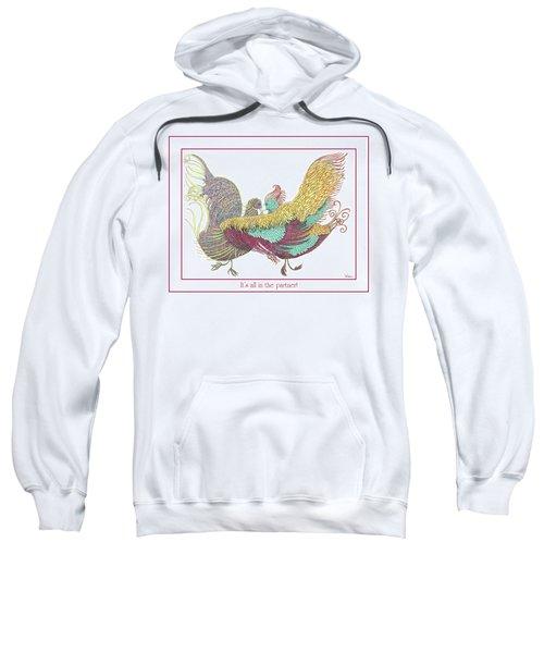 Love Birds Dancing Sweatshirt