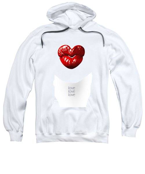 Love Poster Sweatshirt