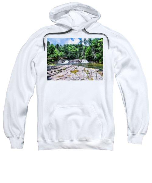 Lower Waterfall View Sweatshirt