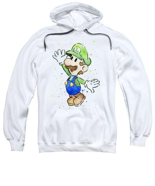 Luigi Watercolor Sweatshirt