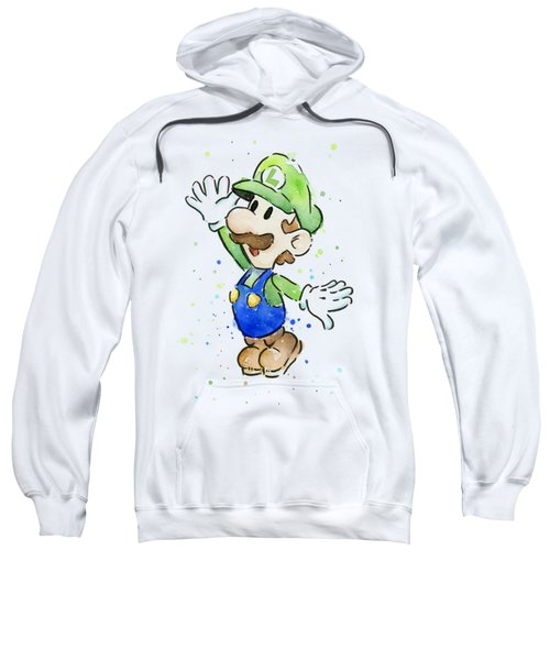 Luigi Watercolor Sweatshirt