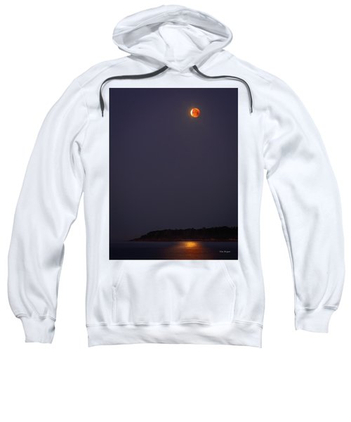 Lunar Eclipse - January 2018 Sweatshirt