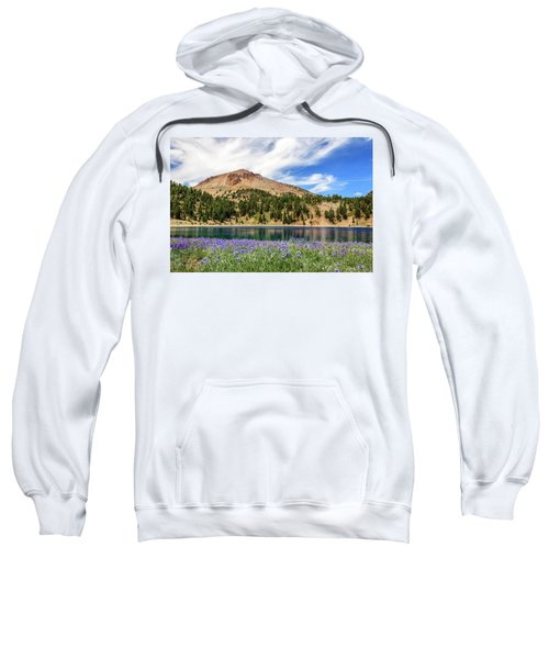 Lupines Lake And Lassen Sweatshirt