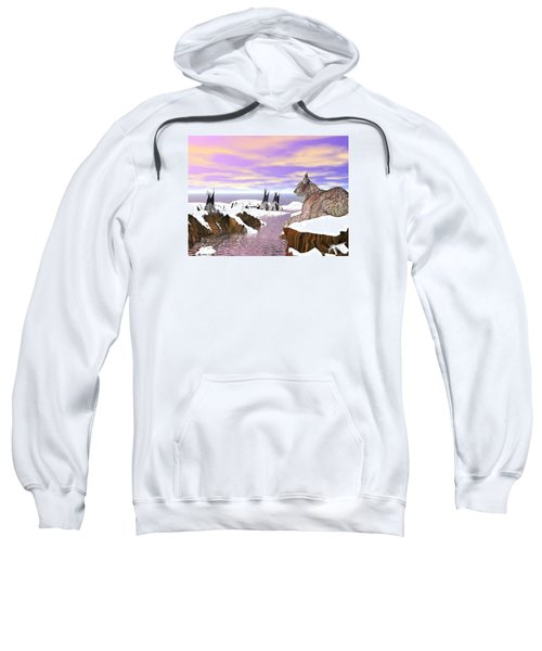 Lynx Watcher Render Sweatshirt