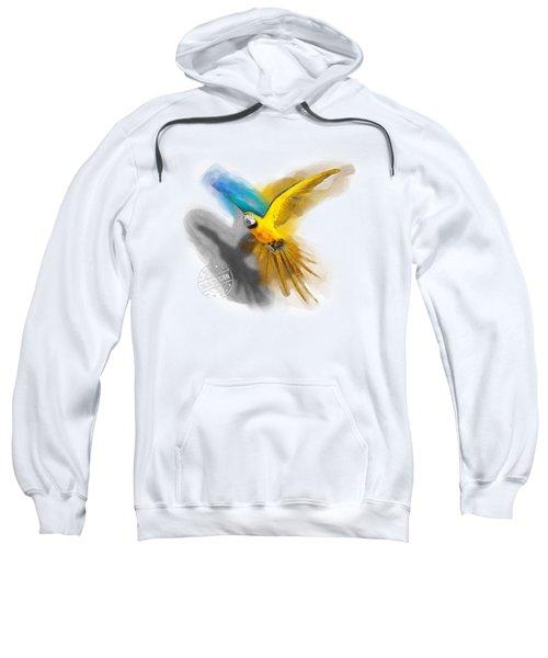 Macaw No 07 Sweatshirt