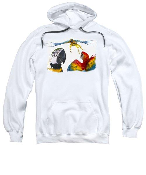 Macaws No 01 Sweatshirt