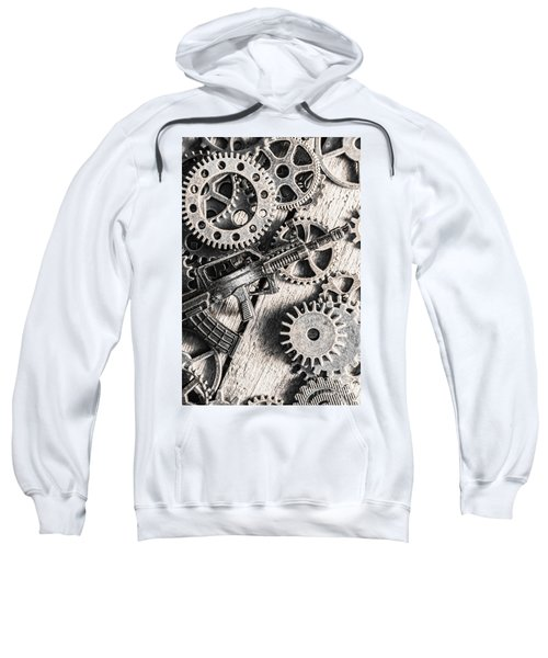 Machines Of Military Precision  Sweatshirt