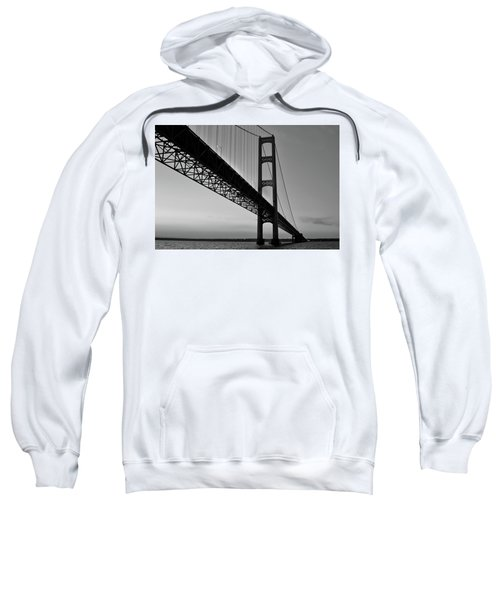 Mackinac Bridge At Sunset Sweatshirt