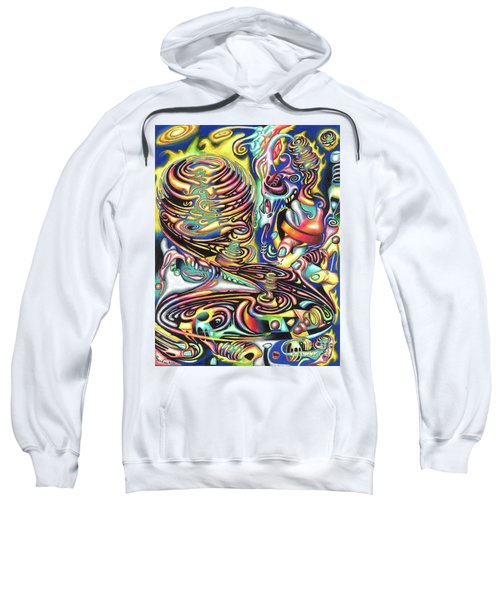 Macrocosmic Creation Of A Splendid Puzzle Sweatshirt