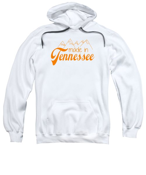 Made In Tennessee Orange Sweatshirt