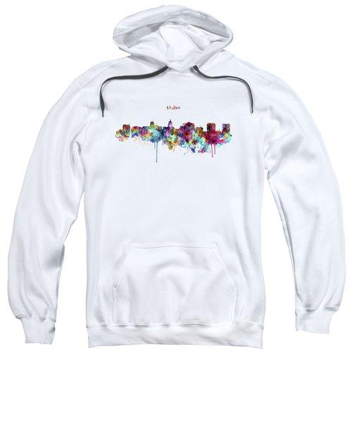 Madison Skyline Silhouette Sweatshirt