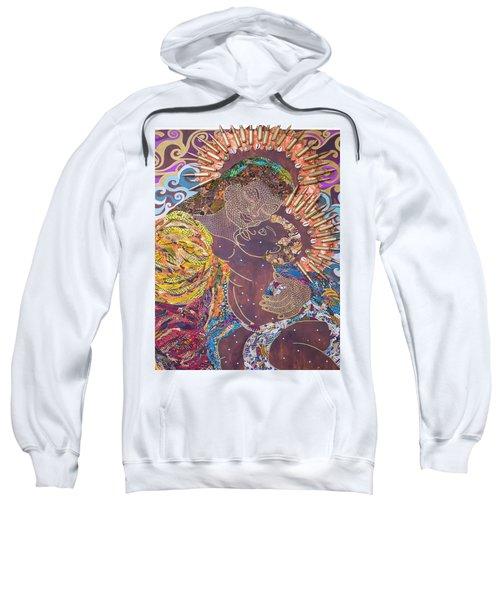 Madonna And Child The Sacred And Profane Sweatshirt