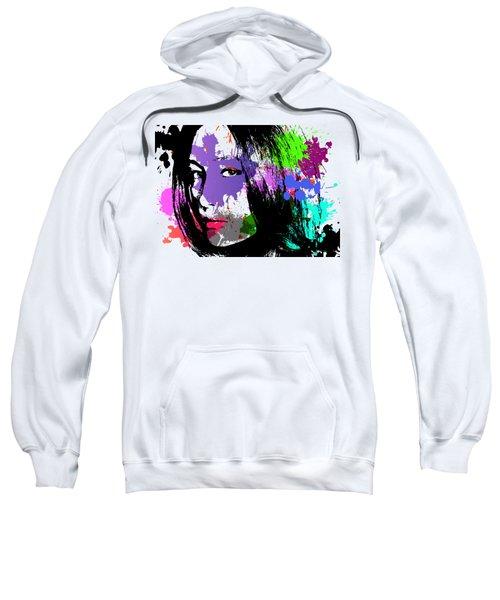 Maggie Q Pop Art Sweatshirt