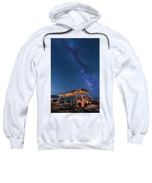 Magic Milky Way Bus Sweatshirt