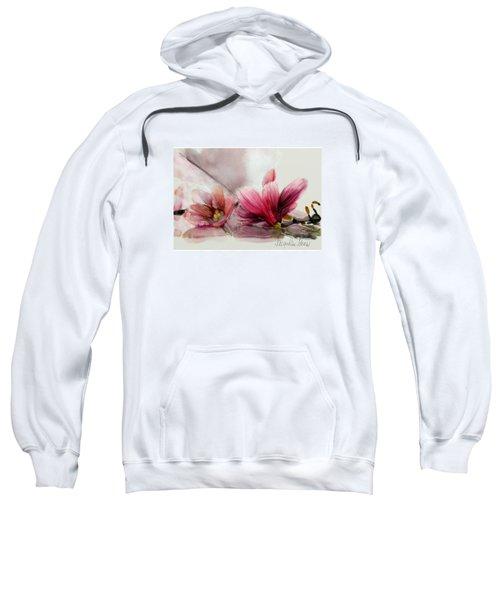 Magnolien .... Sweatshirt by Jacqueline Schreiber