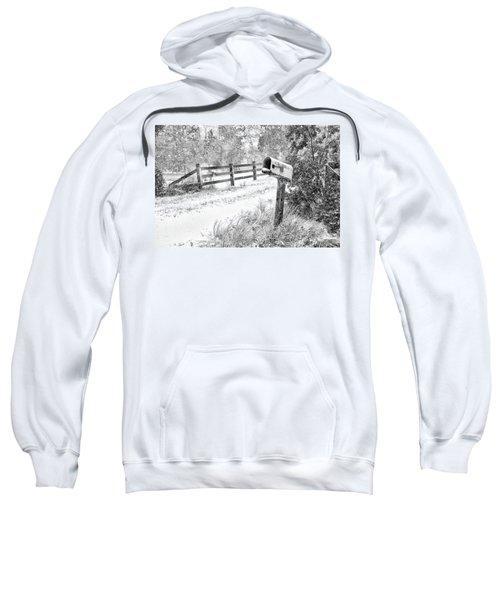 Mailbox Snow Sweatshirt