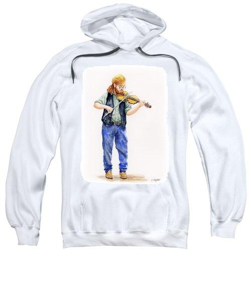 Main Street Minstrel 1 Sweatshirt